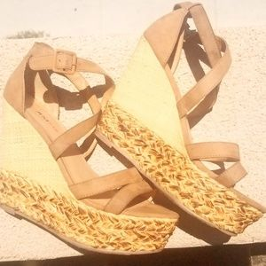 Unique Espadrille Wedges